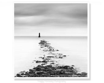 Lighthouse Print, Minimalist Fine Art Prints, Housewarming Gift, Irish Art Made In Ireland, Dublin, Living Room Wall Art, Irish Gift for Him