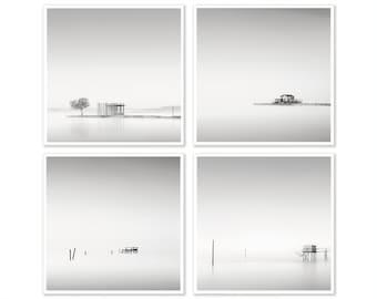 Black and White Wall Art, Set of 4 Prints, Minimalist Wall Art Set, Set of 4 prints, Minimalism photography, Minimalist Art, Print Set