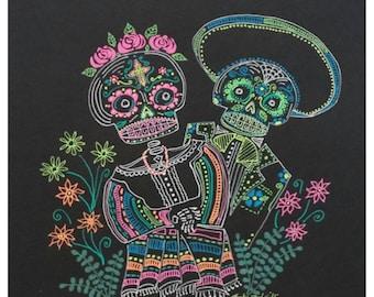 Calavera Couple
