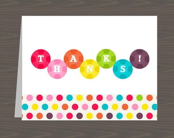Lined Rainbow Note Cards for Kids, Rainbow Stationery for Kids with Lines, Pretty Lined Folded Note Card Set