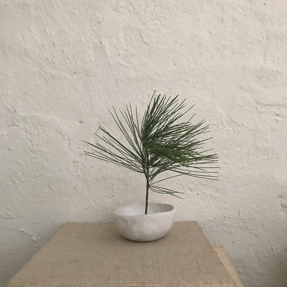 PINCH POT - simple ikebana