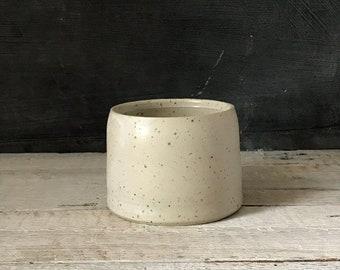 BOWL, diameter 9 cm, speckled bowl, ceramic basics, rustic pottery bowl, food photography, simplify