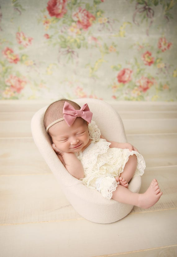 Blush Pink Baby Headband Bows Baby Girl Headband Newborn  e3c21b6f5f0