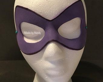 Arkham Asylum Harley Inspired Superhero Mask