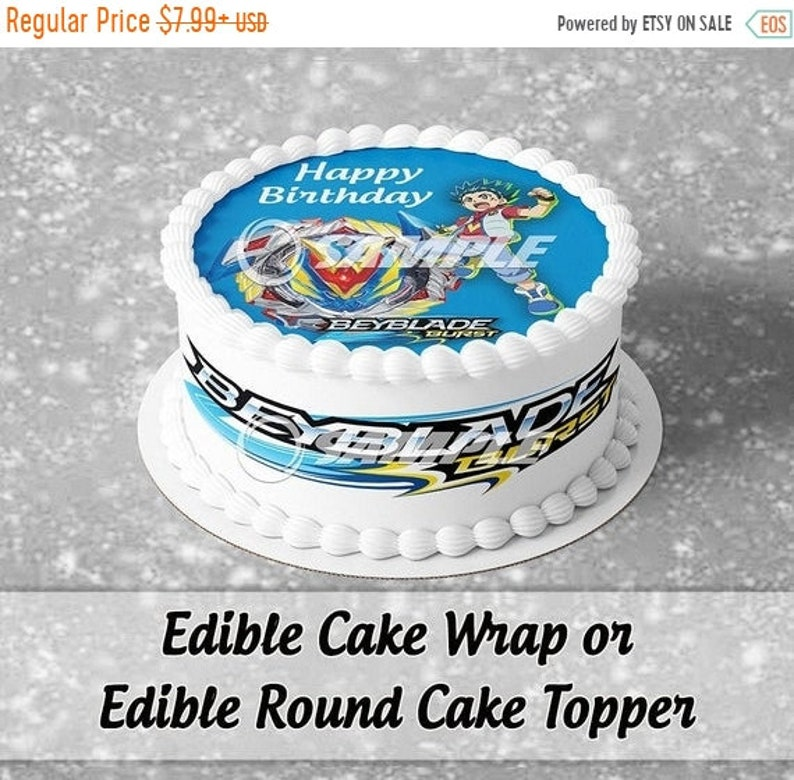 Pokemon PERSONALISED EDIBLE Icing Cake Wrapper Toppers Round