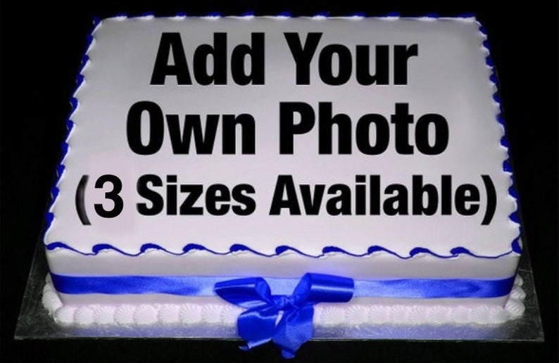 Brilliant Happy 50Th Birthday Frame Add Your Own Picture Edible Frosting Funny Birthday Cards Online Alyptdamsfinfo