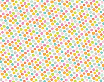 Blend Fabrics Alfie and Bettie Gumballs Pink - 1 Yard