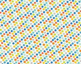 Blend Fabrics Alfie and Bettie Gumballs Blue - 1 Yard