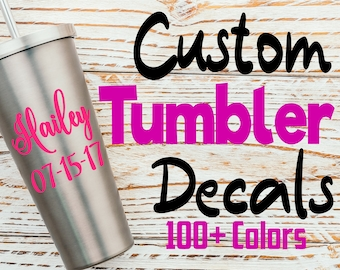 Custom Tumbler Decals Bachelorette Party Custom Decal Sticker Wedding Decals Tumbler Mug Decals Wine Tumbler Decal Champagne Flute Decals