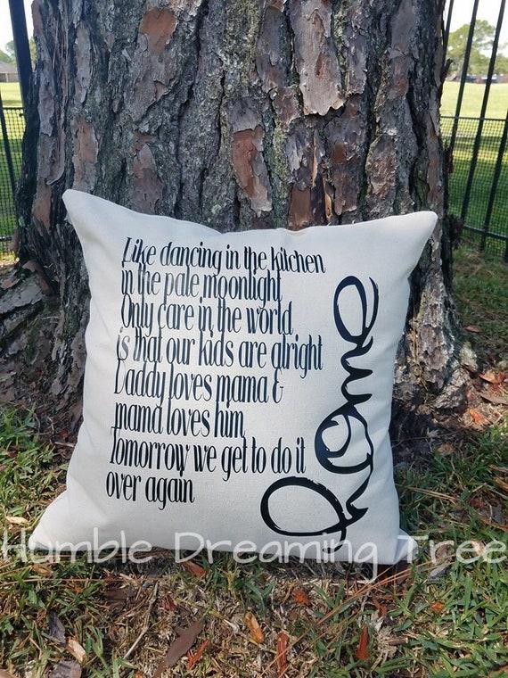 I Wont Be Home For Christmas Lyrics.Blue October Home Lyrics Pillow Cover 18 X18 Housewarming Anniversary Gift