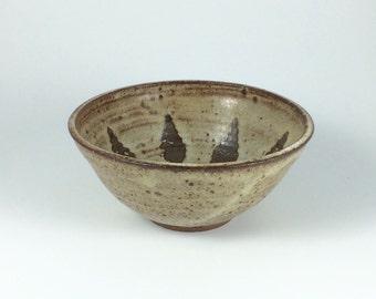 Vintage Iris Barna Studio Pottery Bowl Southwestern Theme