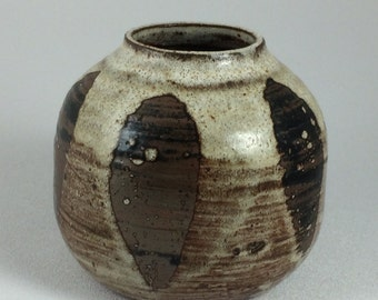 Vintage Iris Barna Studio Pottery Vase Southwestern Artisan