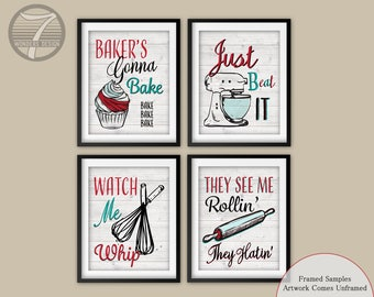 Funny Kitchen Quote Etsy