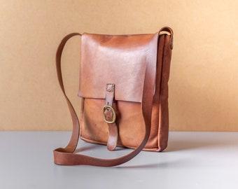 23e148319a Vintage Leather Satchel