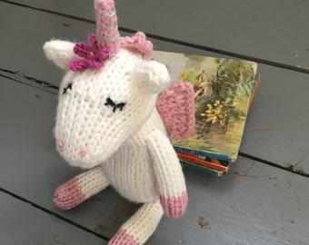 unicorn knit pattern etsy