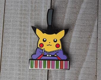 Pikachu   Pokedoll Pokemon Inspired Enamel Pin   Hand Made Pin   Pokemon Pin