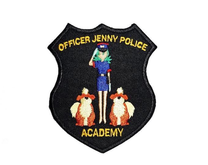 Officer Jenny Police Academy Pokemon Inspired Patch | Hand Made Patch | Pokemon Patch