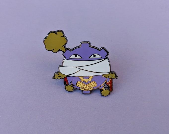 Koffing (OG Color) | Where's Nurse Joy Collection Pokemon Inspired Enamel Pin | Hand Made Pin | Pokemon Pin