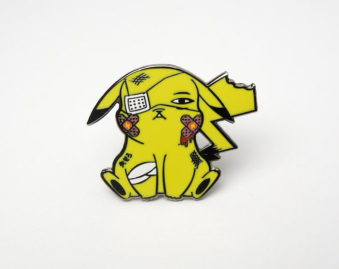 Pikachu (OG Color) | Where's Nurse Joy Collection Pokemon Inspired Enamel Pin | Hand Made Pin | Pokemon Pin