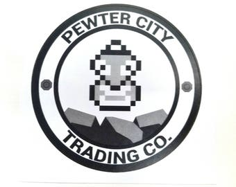 Pewter City Trading Company Pokemon Inspired Sticker | Hand Made Sticker | Pokemon Sticker
