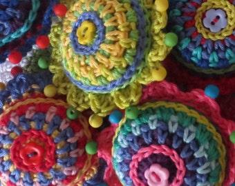 Crochet Christmas Baubles Pattern