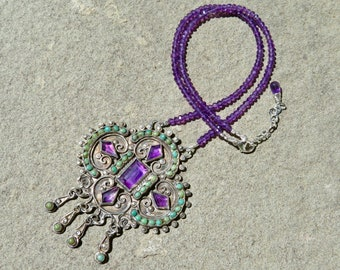 Vintage Matl Necklace, Matilde Poulat Jewelry, Vintage Mexican Silver