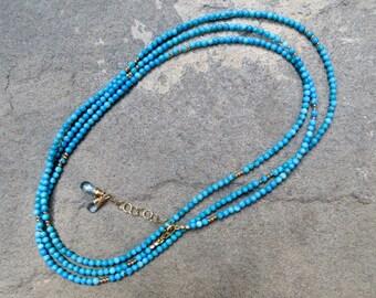 Turquoise Wrap Bracelet,Turquoise Jewelry, Turquoise Wrap Necklace, Multi Strand Gemstone Jewelry, Turquoise Bracelet, Turquoise Necklace