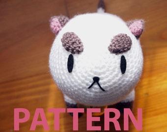 Digital PATTERN PuppyCat Amigurumi Plush PDF