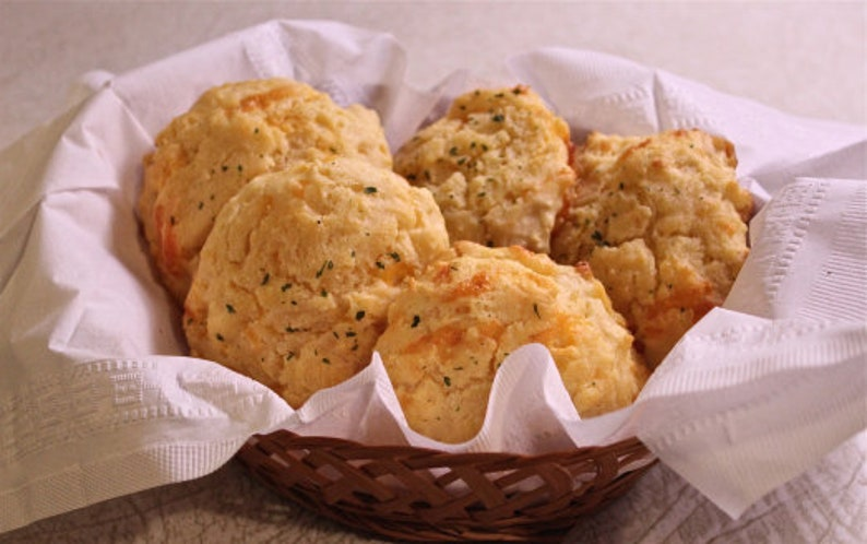 Cheese and Garlic Biscuits RECIPE Download Printable