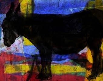 Dark Donkey - Limited Edition Digital Pigment Print