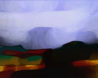 The Hazy Distance -Limited Edition Digital Pigment Print