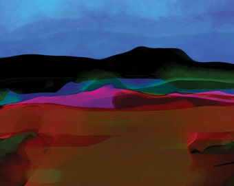 Sky and River - Limited Edition Digital Pigment Print