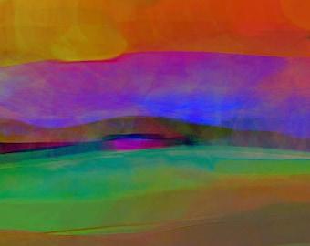 Strange Sunset - Limited Edition Digital Pigment Print