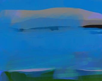 Wet Bay - Limited Edition Digital Pigment Print