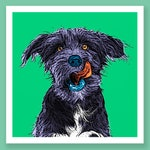 Custom Pet portrait - Pop Art and Natural styles