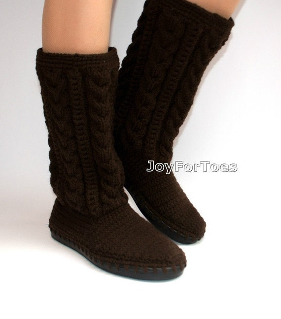 Gifts For Her Crochet Boots Hand Knit Shoes Crocheted Outdoor Etsy