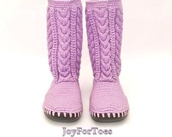 Crochet Fashion Boots