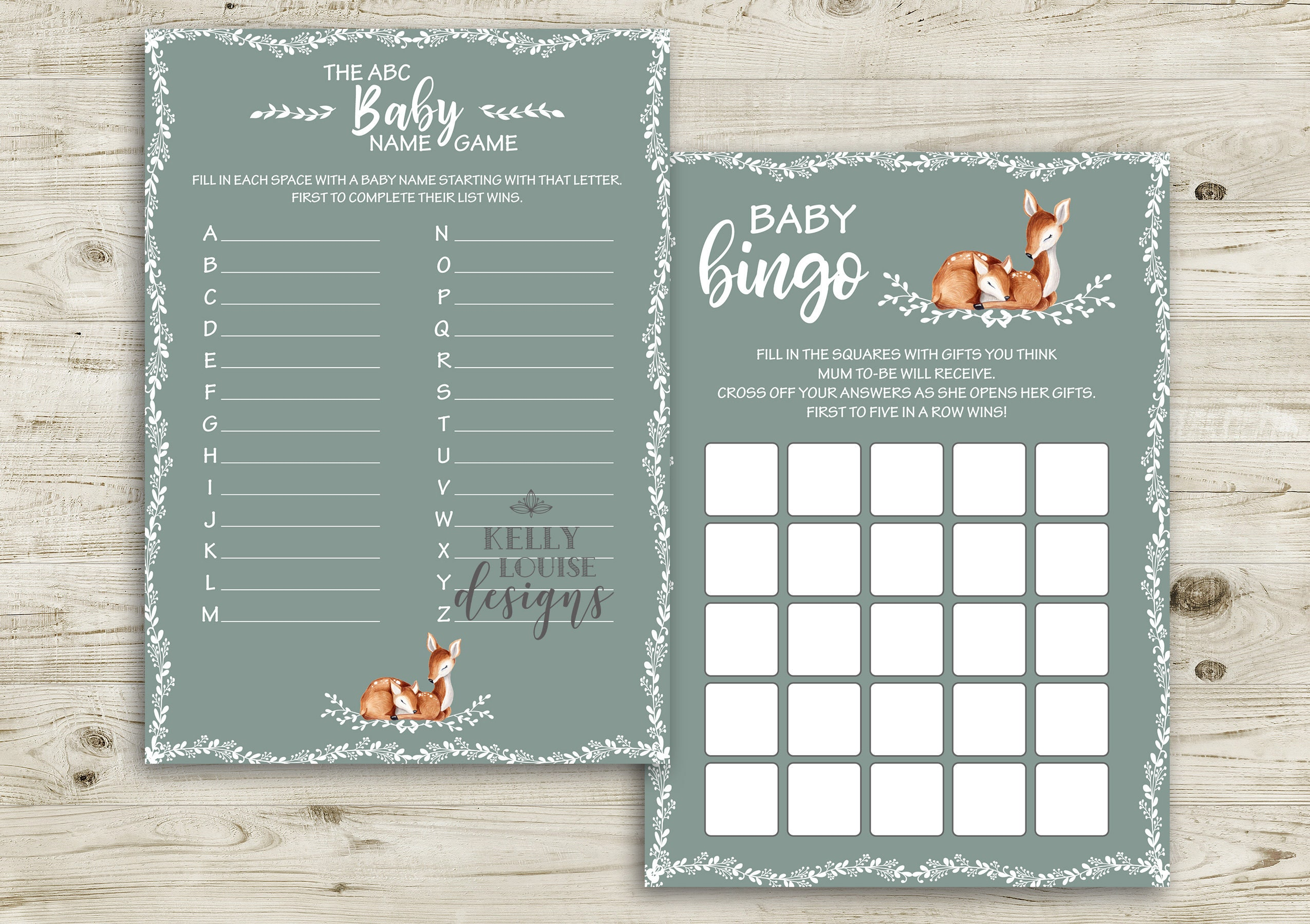 Bambi Baby Shower Games Printable Baby Shower Games Baby Shower