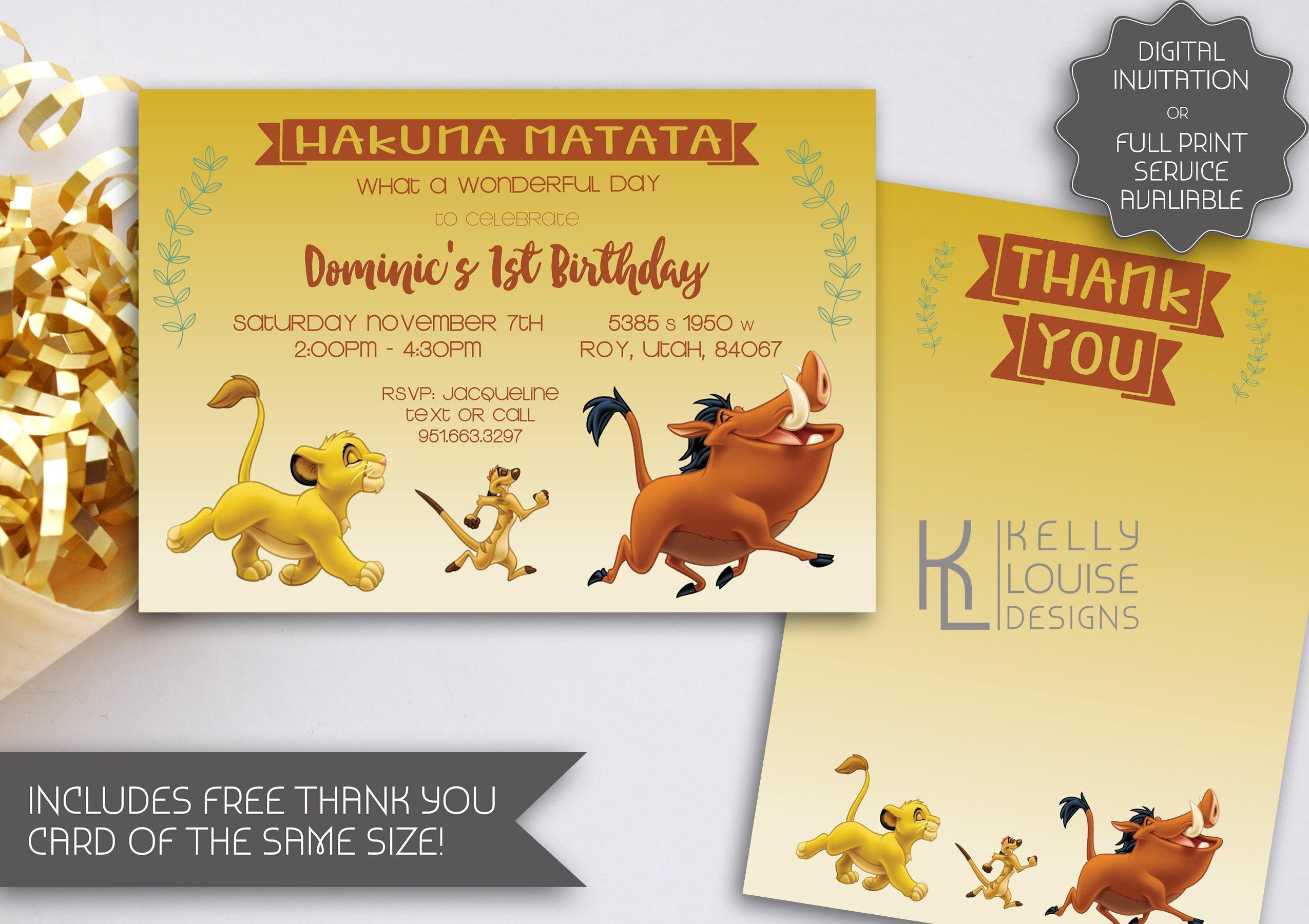 Lion king birthday invitation lion king digital invitation lion lion king birthday invitation lion king digital invitation lion king baby shower lion king party lion king printable invitation 074 filmwisefo