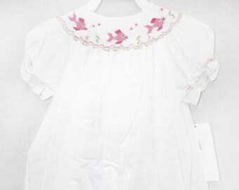 ee009ed7e Baby Girl Clothes Bishop Dress Bishop Bubble Smocked