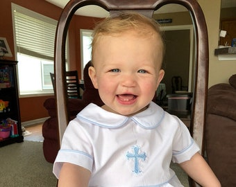 Boys Baptism Outfit, Baptism Clothes for Boy, Baptism Boy Outfit, Baby Boy Baptism Outfit 293661