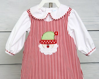 eba9801e210b Items similar to Baby Girl Christmas Dress