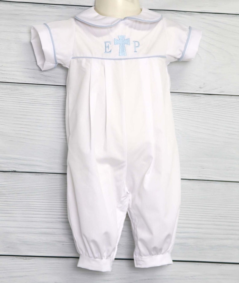 Boys Christening Outfit Christening Outfits for Boys Boys Baptism Outfit Toddler Christening Romper 293115