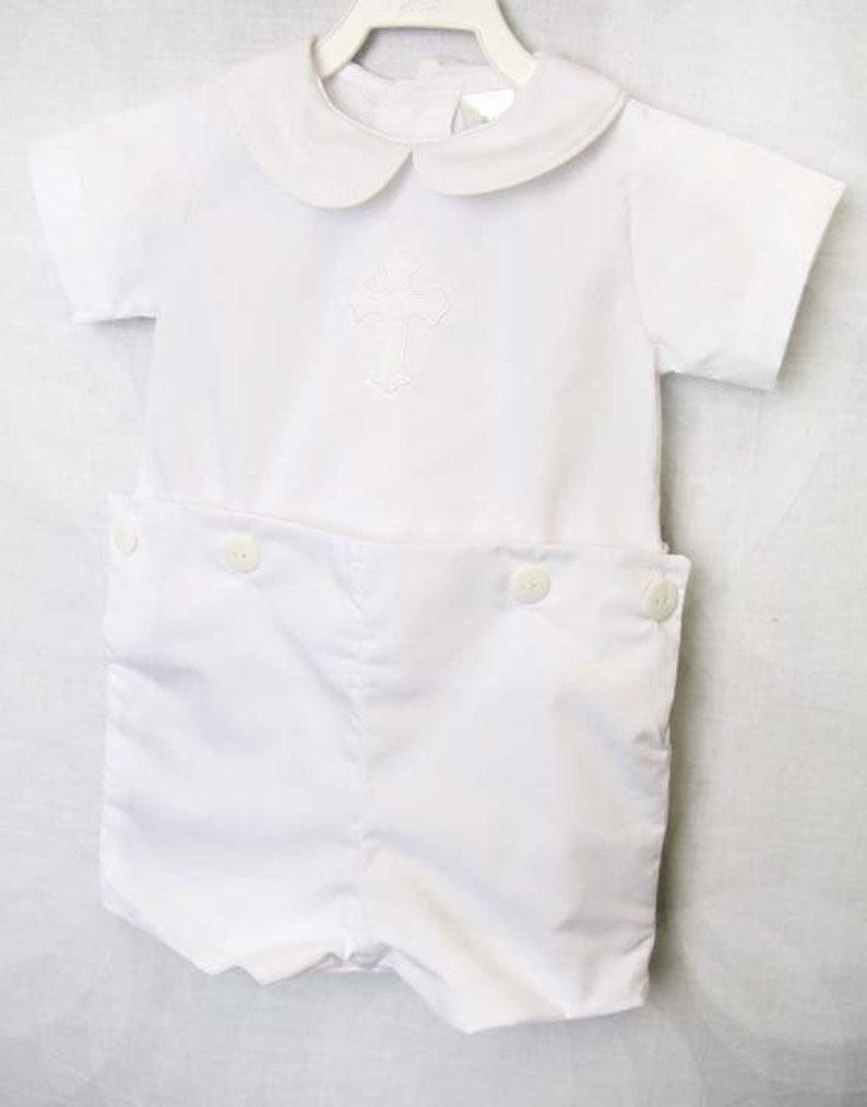 1e267e3da435 Baby Boy Baptism Outfit Baby Boy Clothes Baby Boy