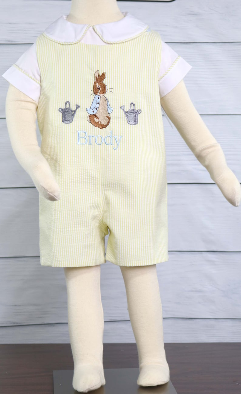 1501bca3235f Baby boy easter outfit 1st birthday peter rabbit party