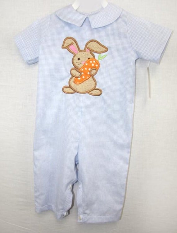 83ee9f916ee2 Toddler Easter Romper Baby Boy Clothes Baby Boy Easter