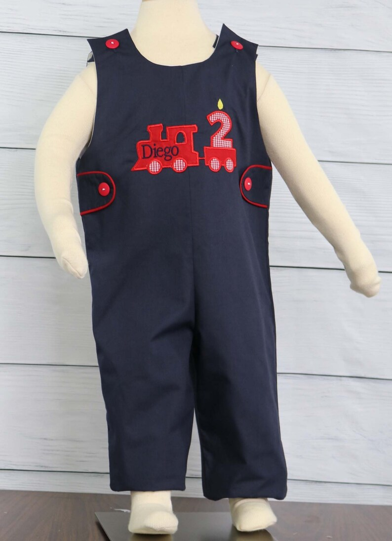 Baby Boy Train First Birthday Outfit Boys Shirt