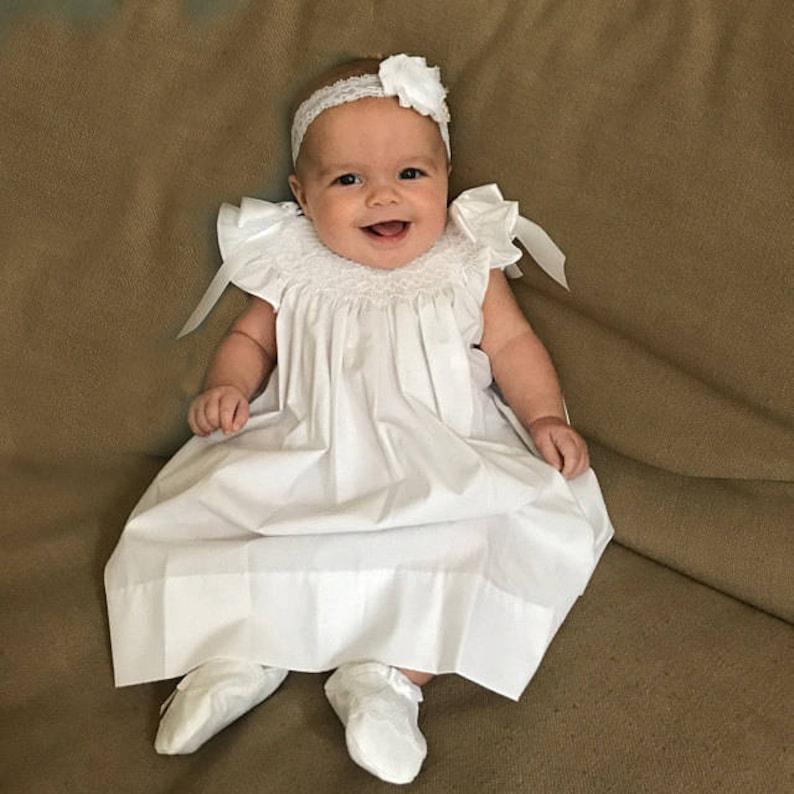 51789c4d5 Christening Dress for Baby Girl Baptism Dress for Baby Girl | Etsy
