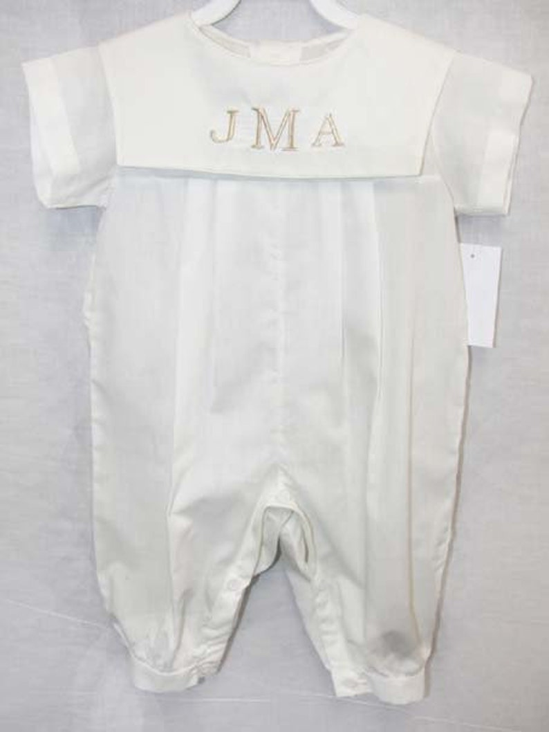 23720d88c1 Baby Boy Baptism Outfit with Cross Baptism Outfit for Boy
