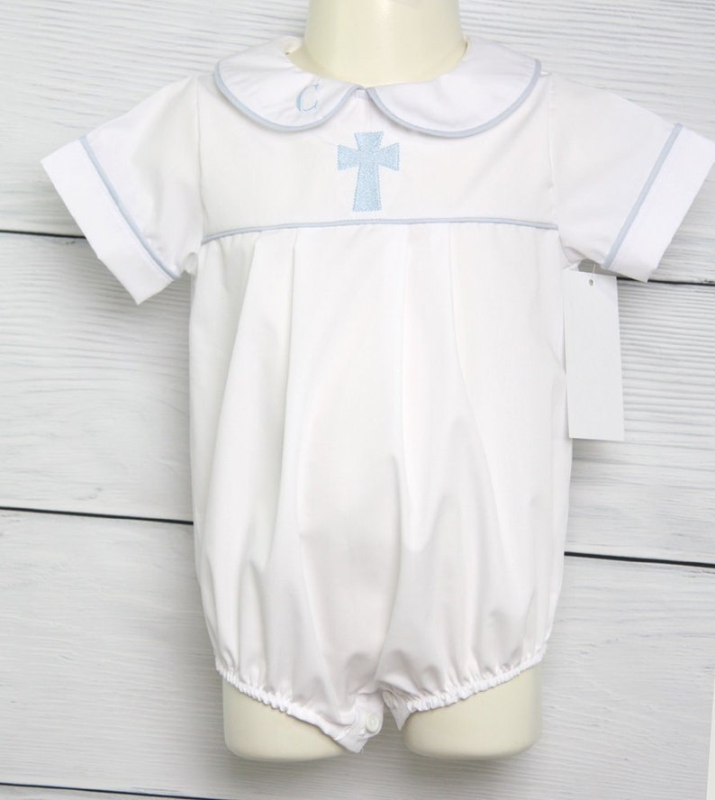 8064e4146e2c Baby Boy Baptism Outfit with Cross Baptism Outfit for Boy